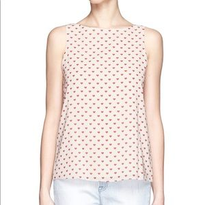 Alice and Olivia heart top ❤️